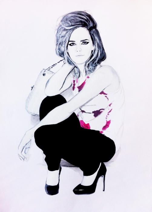 Emma Watson par dizisdee